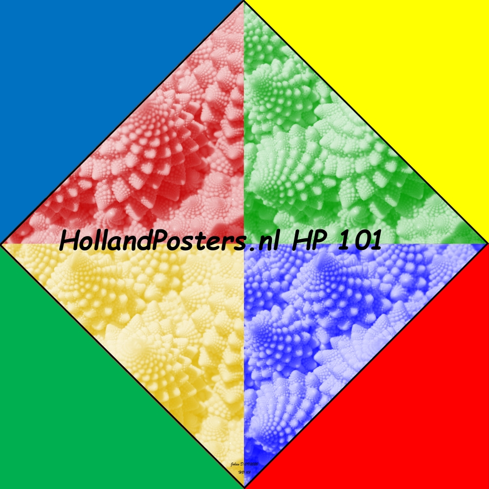 Cool colors very special art HP 101 hp